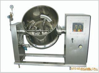 卧式搅拌夹层锅,卧式搅拌炒锅,可倾搅拌锅