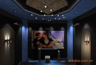 隔音-吸声材料-聚酯纤维吸音板-吸音材料适用于家庭影院和会议室