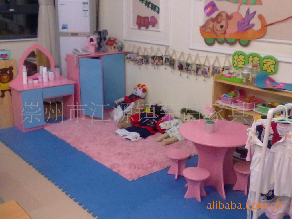 采购成套家具 幼儿园娃娃家,幼儿家具,幼儿园家具定做,小床,