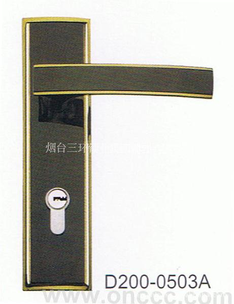 三环装饰门锁 执手锁D200 0503A -价格,厂家,图片,其他锁具,义