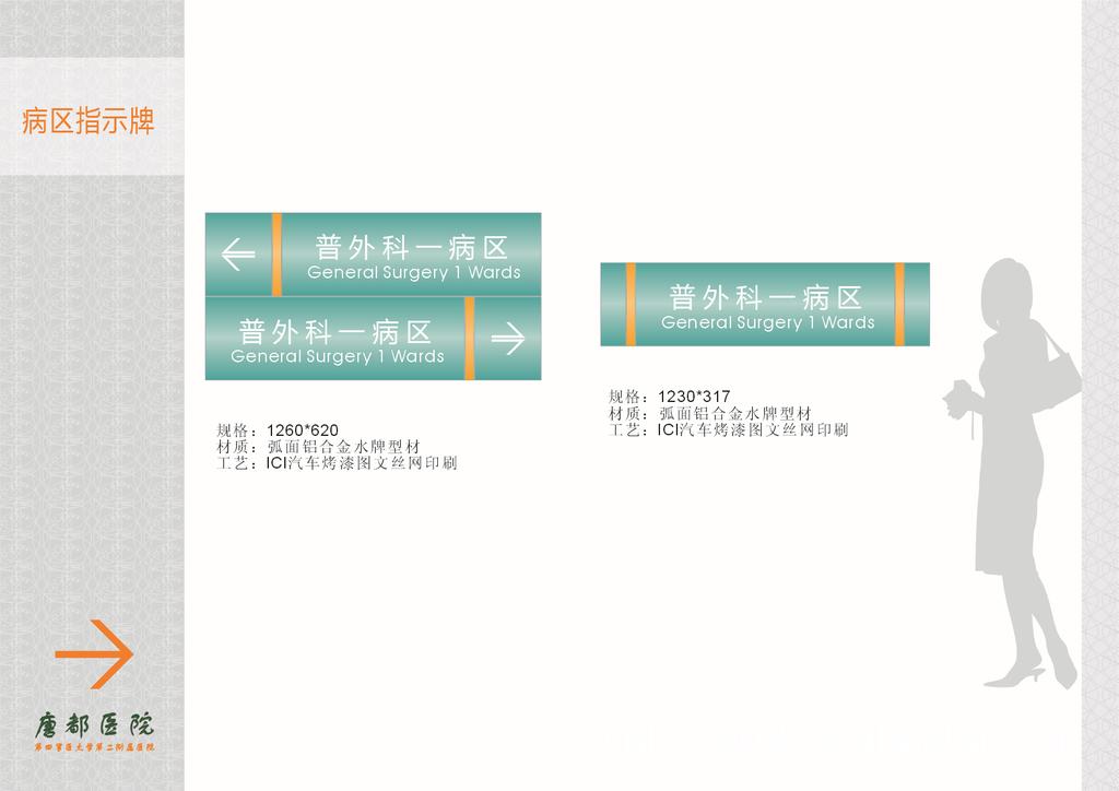 科室指示牌 医院病房标志牌,医院科室指示牌, 阿里巴巴