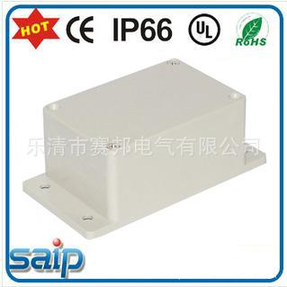 供应PC塑料透明上盖带固定耳防水盒、开关防水盒厂家直销