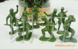 300元儿童玩具批发 经典怀旧 二战军事模型玩具 桶装