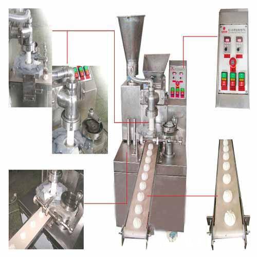 自动 南京/包子机的生产流程图: