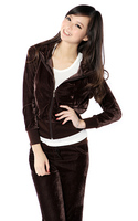 Женские толстовки и Кофты 2013 women's long-sleeve tracksuit sport suits tracksuit lesure suits jacket+pants clothing set uniforms