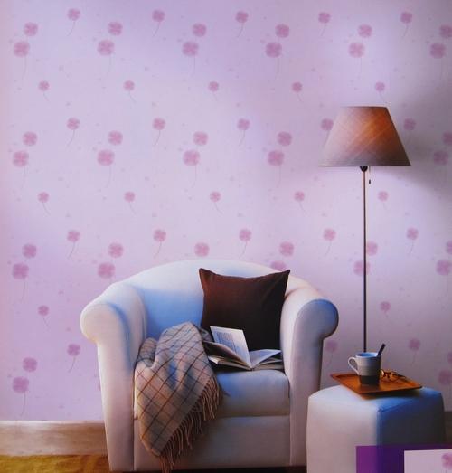 丝梦墙纸SD1008-4韩国进口蒲公英花卧室床头背景墙壁纸