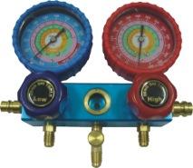 厂家直销 环保汽车加氟表组中央空调冲氟表组