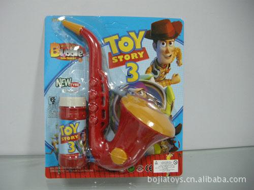 厂家直销实色萨克斯泡泡植物大战僵尸 儿童吹泡泡玩具
