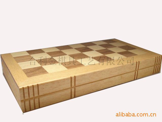 2.5英寸国际象棋双陆棋木制拼格