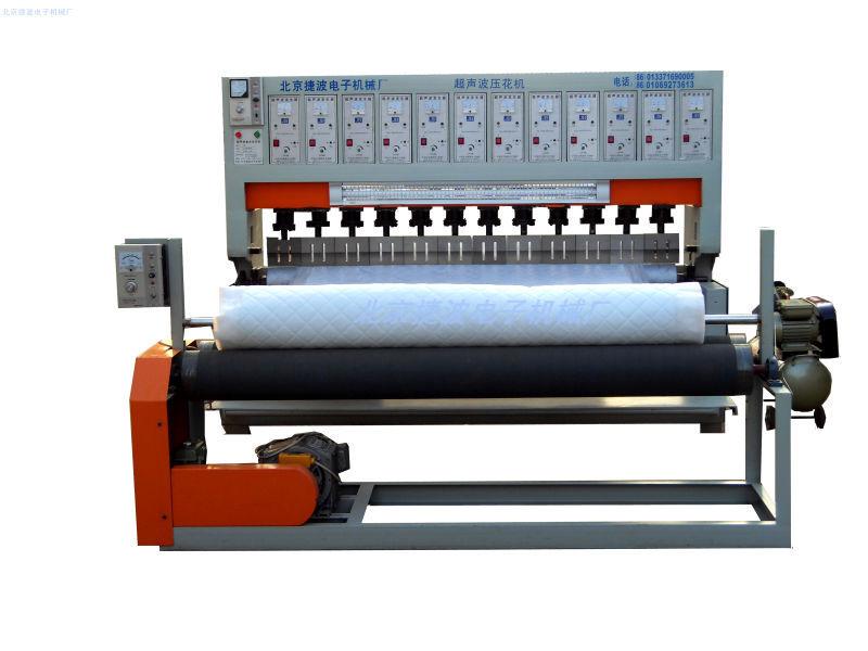 厂家直销花纹独特压花机花样自动型捷波大功率超声波压花机