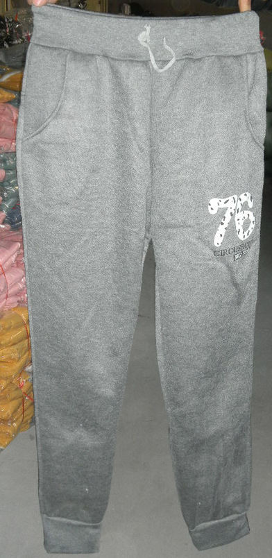 6前后印花女士休闲运动裤 -价格,厂家,图片,女式休闲裤,陈羿良