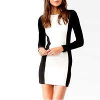 Товары на заказ 2012 autumn fashion long-sleeve is women's one-piece dress 8822 one-piece dress plus size