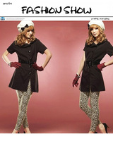 Женские носки и Колготки Hot sale 2013 New sexy leopard lady Jeans For Women Fashion Seamless Leggings women Tights Jeggings