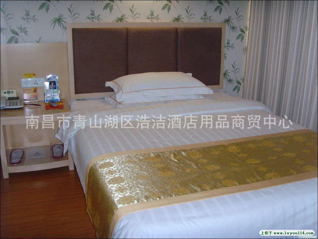 家具宾馆酒店家具床上用品床上客房布草v家具酒店买太原买去哪里图片