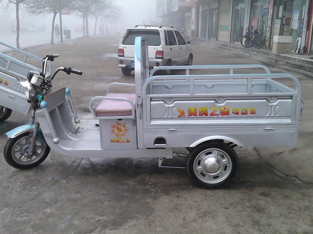 大量批发电动三轮车整车散件超强车架拉货快递锂电铅酸通用三轮车