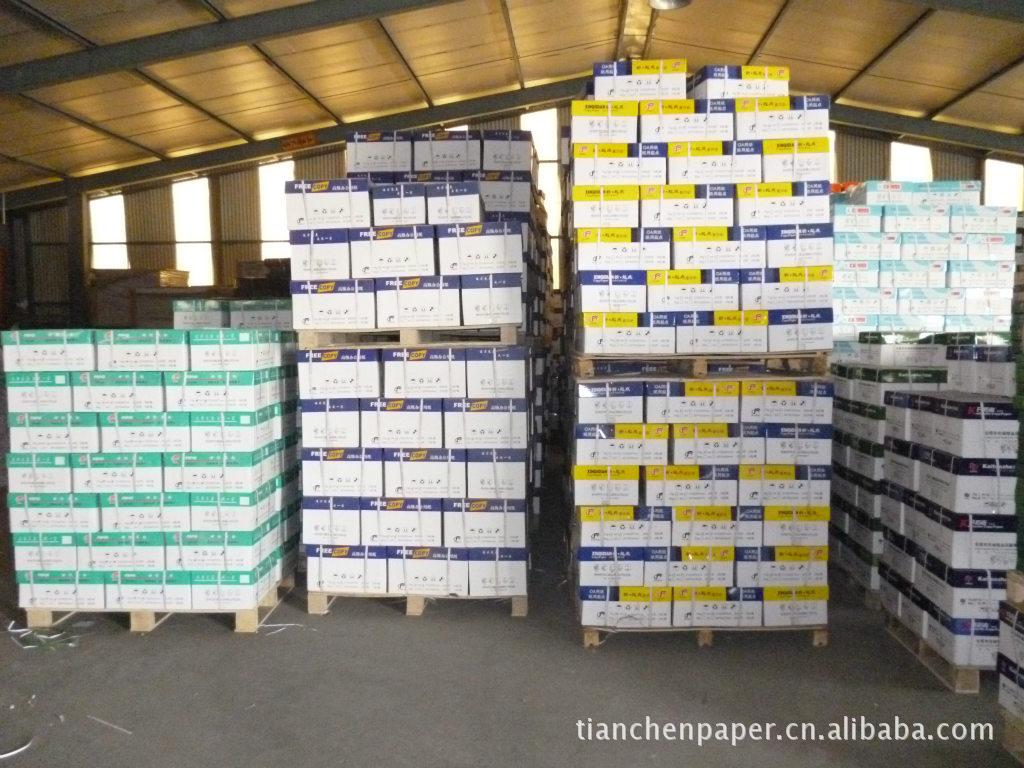 长期供应A4 复印纸/全木浆原纸/价格低廉