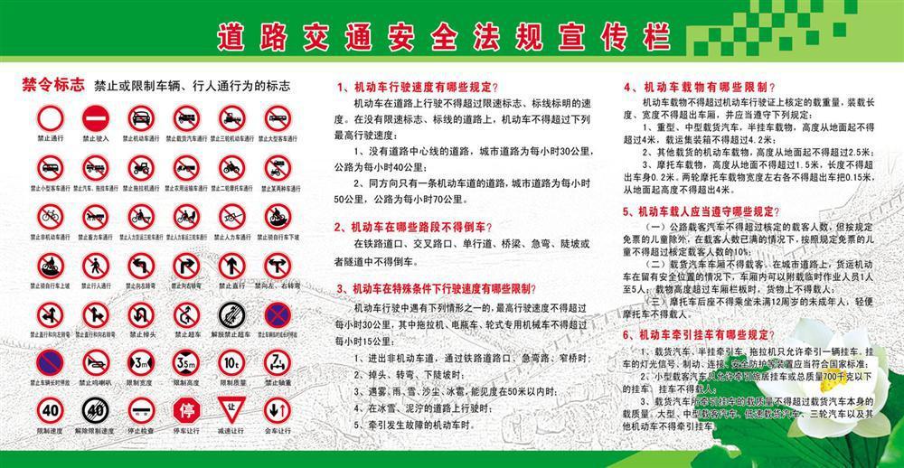 厂家安全法规宣传栏】图片,图纸,交通,铜版纸,新dxf价格转PCB图片