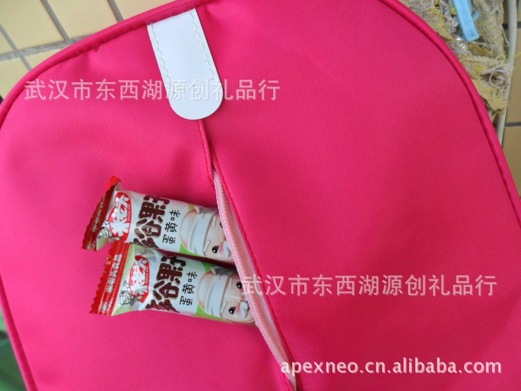 定做 幼儿园书包 儿童背包 韩版双肩包 儿童Q包 200个起印LOGO图