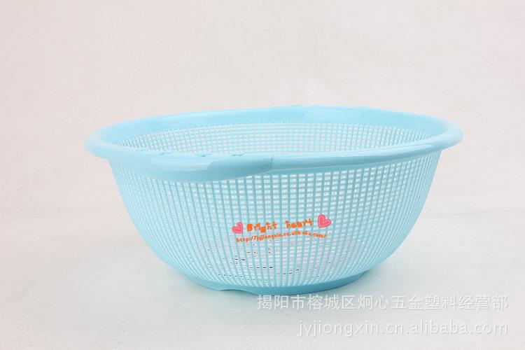 【日式米筛吸盘圆筛果蔬筛滴水筛淘米筛厂机床附件超市图片