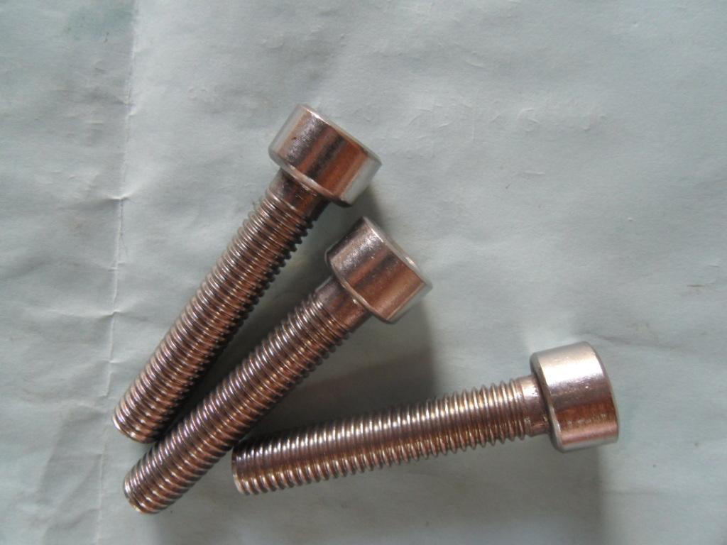 厂家供应(订做)各种反牙304不锈钢内六角圆柱头螺钉
