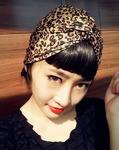 [FD048]韩国韩版满包邮饰品发饰发夹发带/豹纹复古欧美发带