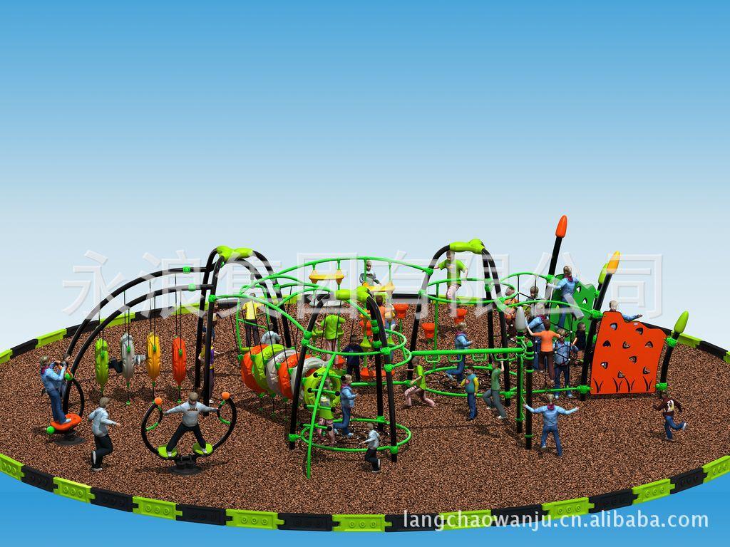 【新款攀登架儿童玩具游戏架户外大型游乐设施水钻玻璃鞋花图片
