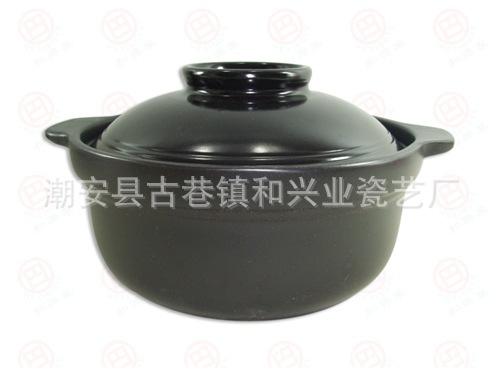 供应耐热火锅 陶瓷砂锅 汤锅 炖锅 3升