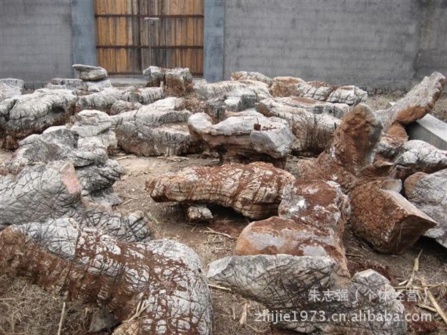 龟纹石 制作 假山 护坡 驳岸 园林绿化 草坪石 价格 产地 -价格,厂