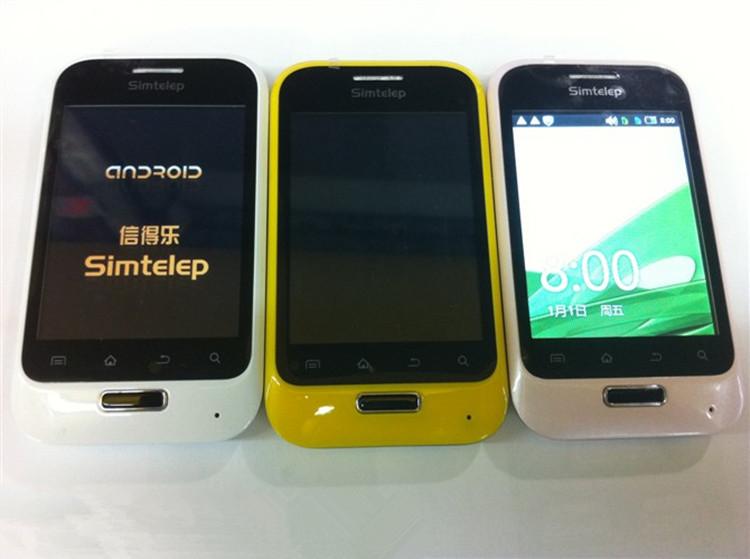 信得乐q68安卓23智能手机1g主频32寸电容屏