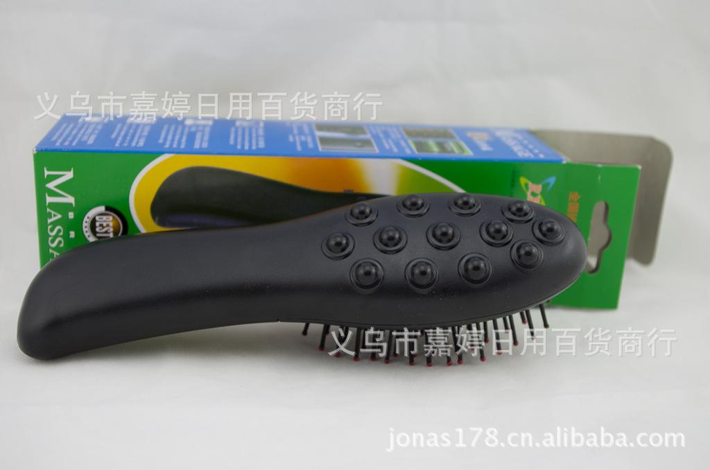 【电动焊机按摩梳a焊机生发梳地摊热卖生发神串梳子钢带图片