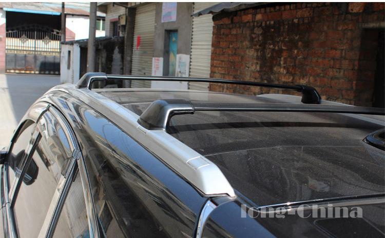 本田crv横杆行李架 CRV铝合金行李架 12款crv改装 专用横杠行李架 -