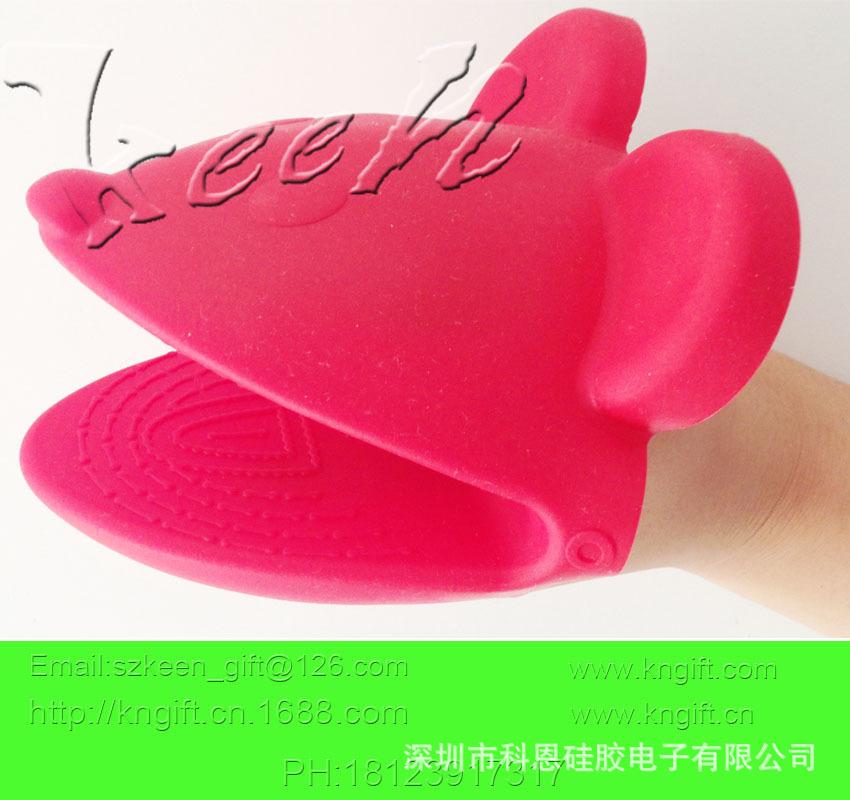 可爱动物形状手套