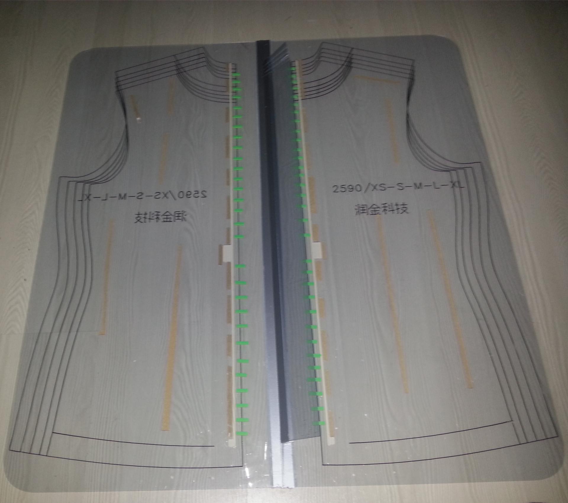 服装模板,拉链模板,缝制模板,服装模具,开筒模板