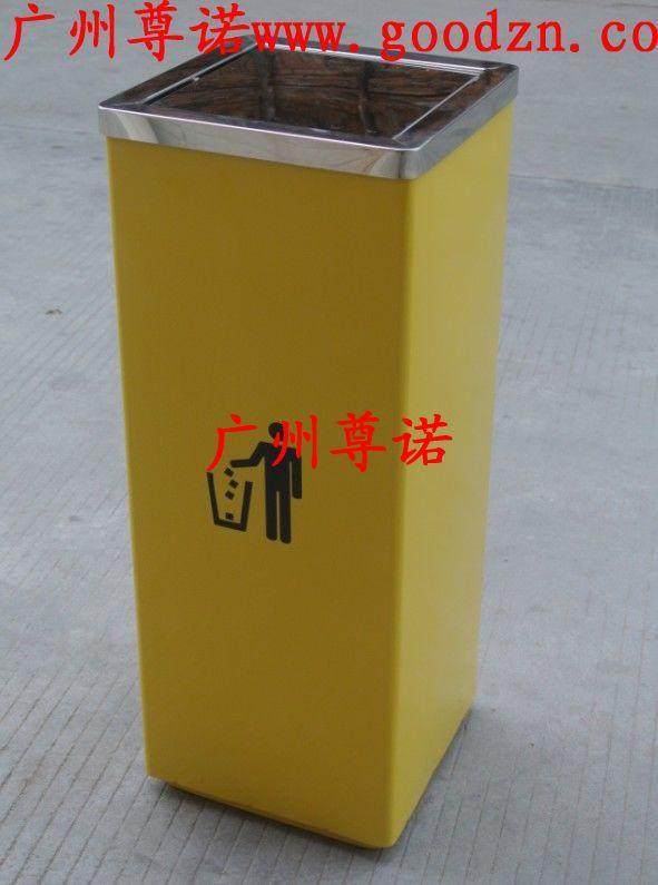 室内不锈钢垃圾桶_批发垃圾桶:方形翻盖垃圾桶