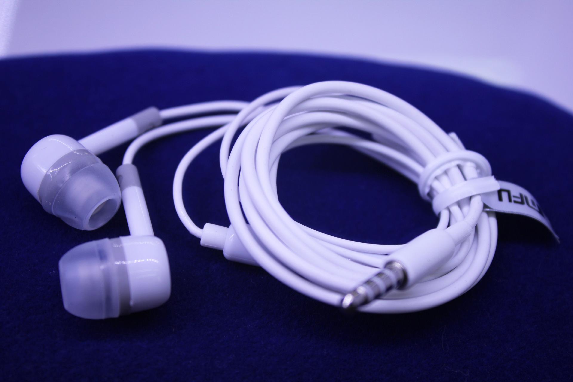 手机专用线控耳机-小米原装耳机批发 音质超好