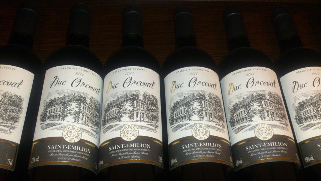 【奥利芙·圣爱美隆干红葡萄酒 Duc Orceval 法