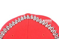 Женская бейсболка Clearance! Factory Korean punk hip hoop Fashion skull rivet lovers acrylic letters snapback hats