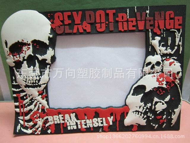 【白雪公主PVC艺术软胶护栏滴胶相框外壳塑相框管卡通图片