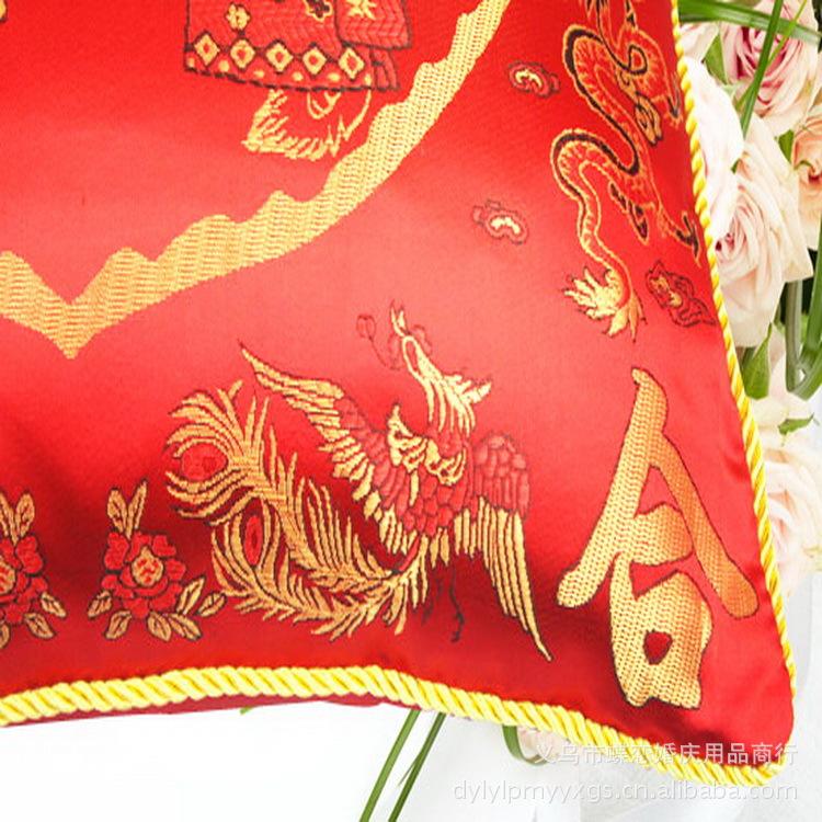 枕 蝶恋 手工刺绣卡通公仔抱枕 高品质靠枕 喜传天下 个性枕头 400g图片