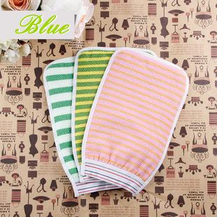 久丽韩式竹子纤维洗澡巾 搓澡巾手套  天然不缩水