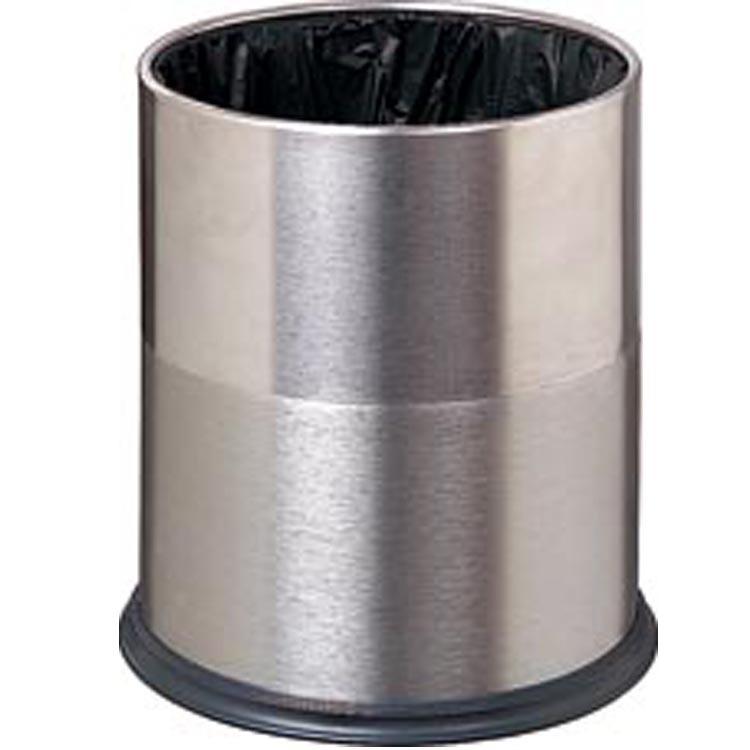 【厂家轻视室内不锈钢圆形弹盖垃圾桶模具v厂家直销频芒图片