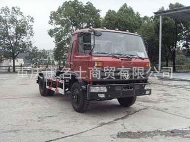 东风EQ5120ZXXG车厢可卸式垃圾车B170东风康明斯发动机
