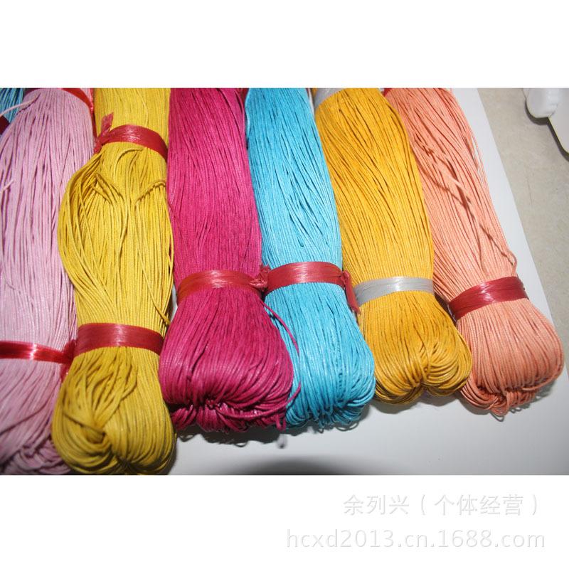带、绳、线-捆梆绳模图片 义乌蜡线 普通国产蜡