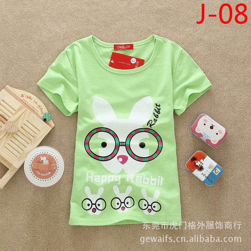 纯棉儿童短袖T恤 糖果色童装短袖T恤 个性时尚品牌童装短袖T恤图片,