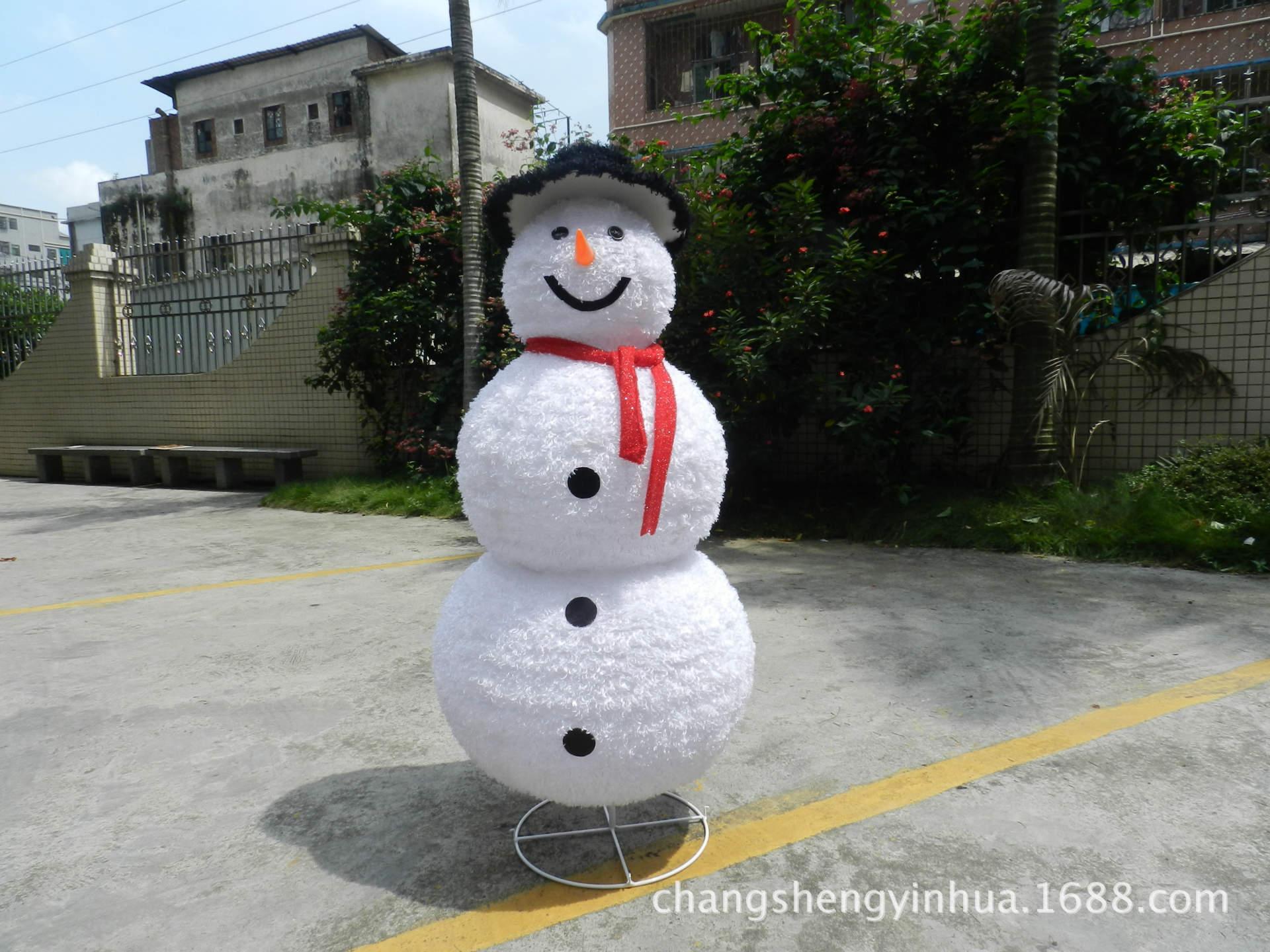 圣延树 雪人 -价格,厂家,图片,其他节庆婚庆用品,博罗县园洲镇昌