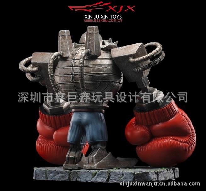 动漫周边模型 X 864 拳王12CM 精致健身房摆件