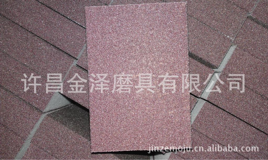 厂家供应梯形氧化铝海绵磨块 ,手握梯形海绵砂块