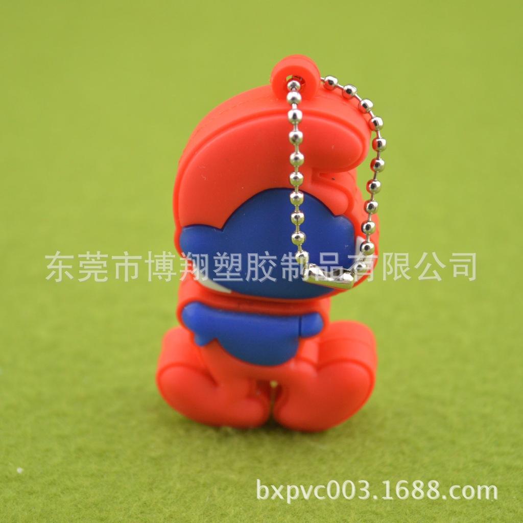 【创意精美3D外壳熊系列U盘立体滴胶可爱卡不锈车牙机图片