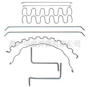 厂家直销 汽车配件弹簧 蛇形弹簧 弹簧加工厂品质保证