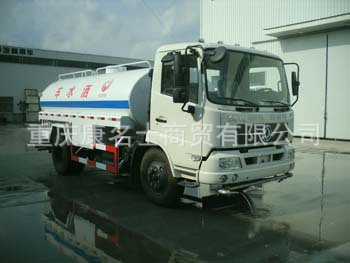 中汽ZQZ5166GSS洒水车B190东风康明斯发动机